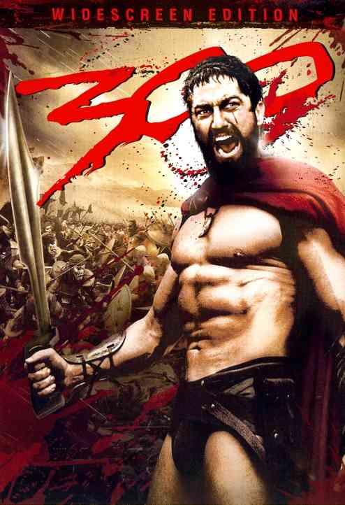 300 BY BUTLER,GERARD (DVD)