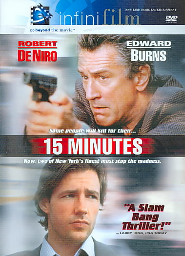 15 MINUTES BY DE NIRO,ROBERT (DVD)
